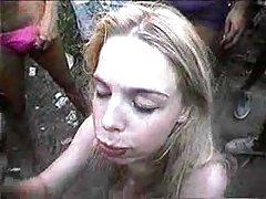 巴西夫妇-她喜欢骑的公鸡